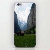 switzerland iPhone & iPod Skins featuring Switzerland (Travel) by Laura Vaisman