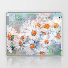 Vintage daisies(4) Laptop & iPad Skin