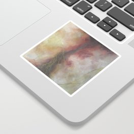 Golden Galaxy Tile Sticker