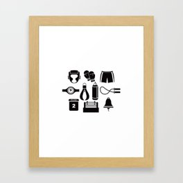 All The Things You Need To Become A Great Boxer Framed Art Print