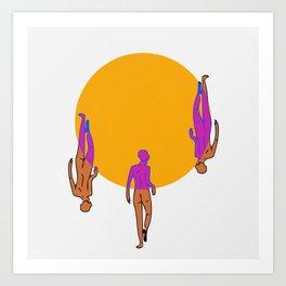 Three Graces Art Print
