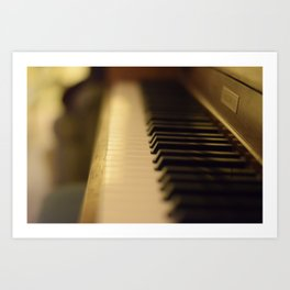 Piano Dream Art Print
