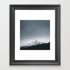 Mt. Hood x Oregon Framed Art Print