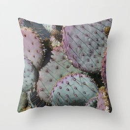 Cactus Whiskers Throw Pillow