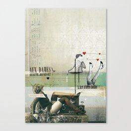 Beauté & Jeunesse Canvas Print