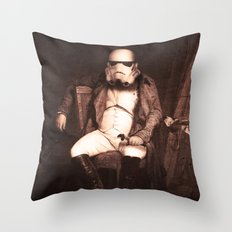 Napoleón Space Throw Pillow