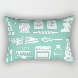 Baking Graphic Rectangular Pillow