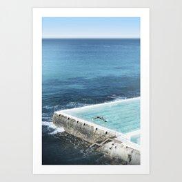 Bondi Icebergs 03 Art Print