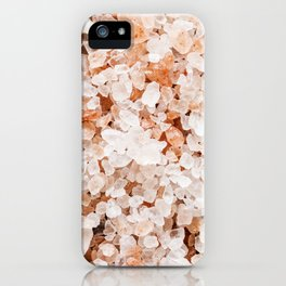 Healing Spa Salts iPhone Case