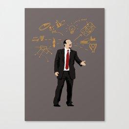 THE THINKER - Rafael Benitez Canvas Print