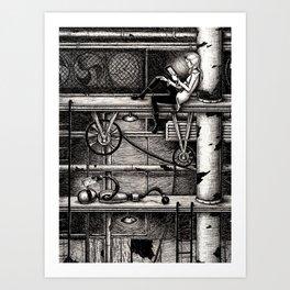 E-Reader Art Print