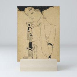 Egon Schiele  -  Standing Girl Mini Art Print