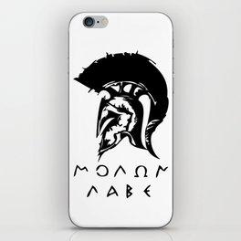 Molon Labe iPhone Skin