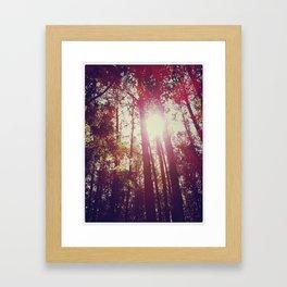 Forever Shining Through Framed Art Print