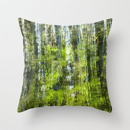 CASCADING WATER Throw Pillow