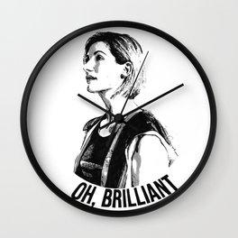 Oh, brilliant Wall Clock