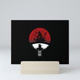 Uchiha Clan Silhouette Mini Art Print