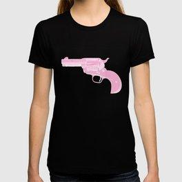 Pink Gun Old Style T-shirt