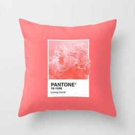 Pantone Series – Living Coral Throw Pillow