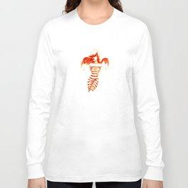 Fiery Water Faery Long Sleeve T-shirt