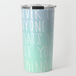 Oscar Wilde: Ordinary Travel Mug