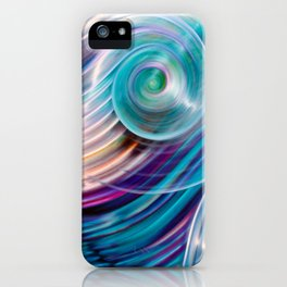 Suddenly Sapphire iPhone Case