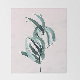 Eucalyptus II - Australian gum tree Throw Blanket