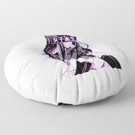Anime Schoolgirl Floor Pillow