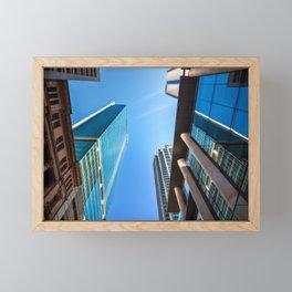 Monumental Skyscrapers in Sydney Framed Mini Art Print