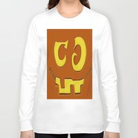 pumpkin Long Sleeve T-shirts featuring Pumpkin by ItalianRicanArt