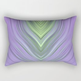 stripes wave pattern 3 cl Rectangular Pillow