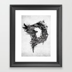 [ D ]ISASTER Framed Art Print