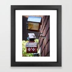 neighborly Framed Art Print