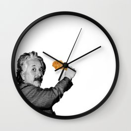 h u n g r y / e i n s t e i n Wall Clock