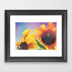 Summer Sunshine Day Framed Art Print