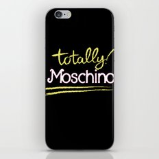 Totally Moschino Black iPhone & iPod Skin