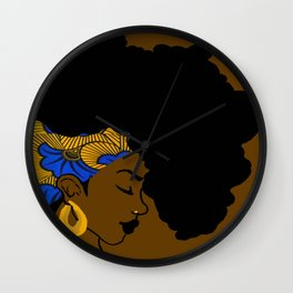 Fro African Wall Clock