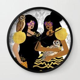 Goth Girls Wall Clock