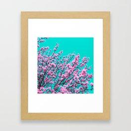 spring tree XIX Framed Art Print