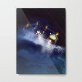 Search and rescue are night Metal Print