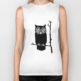 Owl Cute Funny Cool Hipster Men Women Unisex Tank Top Vest owl Biker Tank
