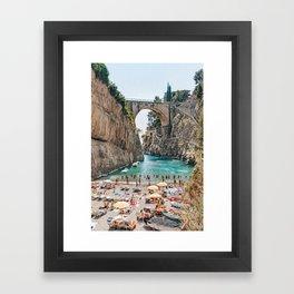 An Italian Holiday Framed Art Print