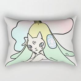 Banana Cat Rectangular Pillow