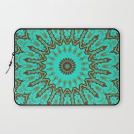 Kaleido in Oxidized Copper Laptop Sleeve