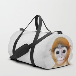 Baby Monkey - Colorful Duffle Bag