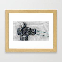 Dead Space 5 Framed Art Print