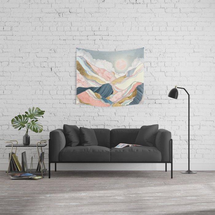 Spring Morning Wall Tapestry