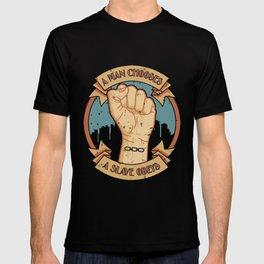 Bioshock a man, a slave T-shirt
