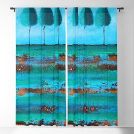 Teal Me A Story Blackout Curtain