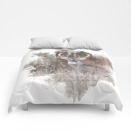 White Tailed Deer Comforters